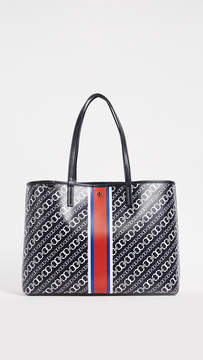 Tory Burch Gemini Link Tote - NAVY - STYLE