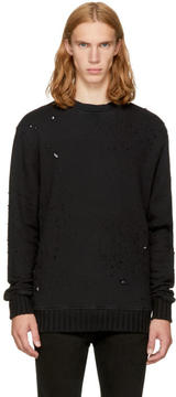 Amiri Black Shotgun Sweatshirt