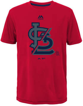 Majestic St. Louis Cardinals Split Series Ultra T-Shirt, Big Boys (8-20)