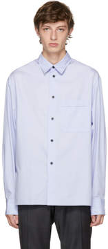 Lanvin Purple Pocket Shirt