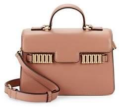 Donna Karan Paola Crossbody Leather Satchel