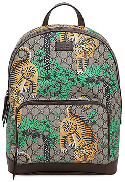 Bengal Print Gg Supreme Backpack