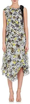 Erdem Women's Zandra Floral Silk Shift Midi-Dress