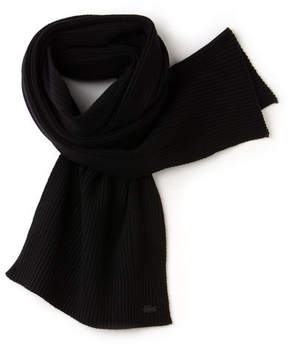 Lacoste Men's Cashmere And Wool Scarf