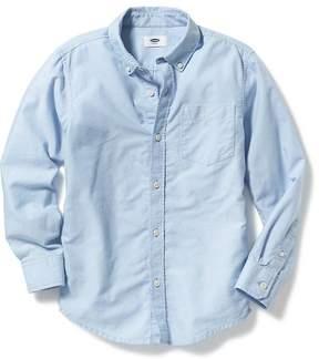 Old Navy Uniform Oxford Shirt for Boys