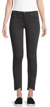 AG Jeans Rustic Slant-Hem Ankle Skinny Jeans