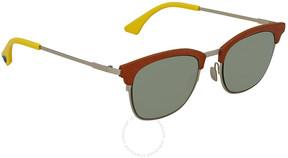 Fendi Green Wayfarer Sunglasses