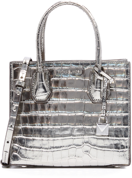 MICHAEL Michael Kors Medium Mercer Messenger Bag - GUNMETAL - STYLE