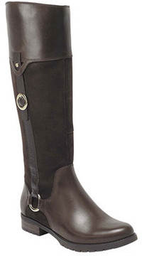 Rockport Women's Tristina Buckle Riding Boot Extended Shaft