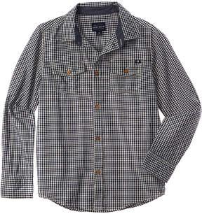 Lucky Brand Boys' Deer Lake Woven Shirt