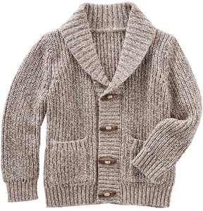 Osh Kosh Toddler Boy Shawl Collar Cardigan Sweater