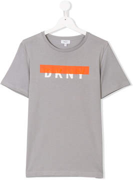 DKNY Teen graphic logo T-shirt