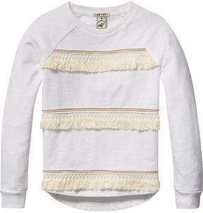 Scotch & Soda Fringed Sweatshirt