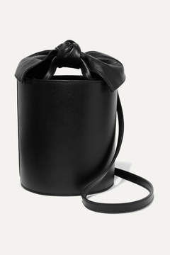 Ulla Johnson Sophie Mini Leather Bucket Bag - Black