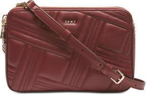 DKNY Allen Leather Crossbody