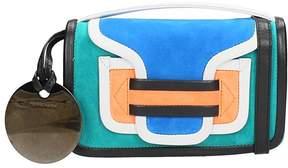 Pierre Hardy Clutch Bag In Multicolor Suede