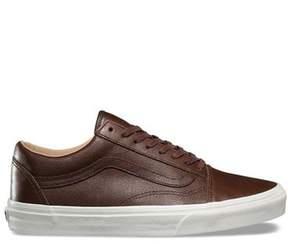 Vans Lux Leather Old Skool in Chocolate Brown