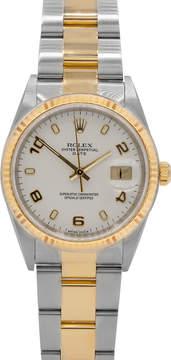 Rolex Pre-Owned 36mm Men's Datejust Bracelet Watch, Two-Tone