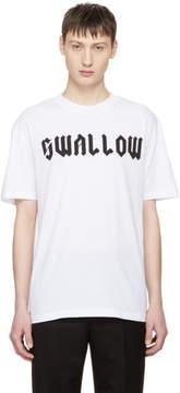 McQ White Swallow T-Shirt