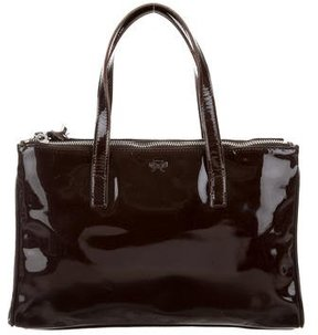 Anya Hindmarch Small Patent Leather Tote