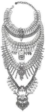 DYLANLEX Falkor VII Crystal Statement Necklace