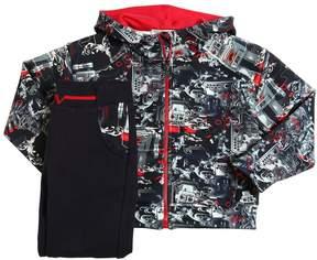 Versace Jersey Neoprene Sweatshirt & Sweatpants
