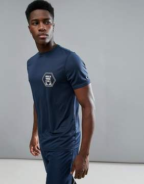 New Look SPORT T-Shirt With Print In Navy