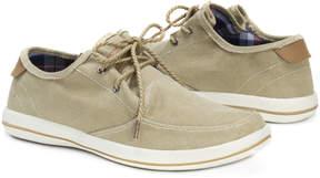 Muk Luks Khaki Josh Linen Boat Shoe - Men