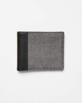 Express Heathered Woven Bifold Wallet