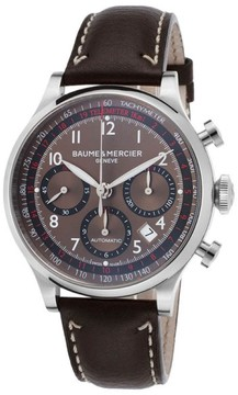 Baume & Mercier Capeland MOA10002 Brown Analog Display Automatic Men