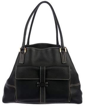 Loro Piana Leather Globe Tote