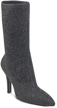 Marc Fisher Unita Sparkle Knit High Heel Mid Calf Boots