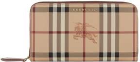 Burberry Elmore Wallet - PURPLE - STYLE