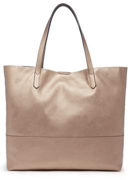 Sole Society Inell Metallic Faux Leather Tote