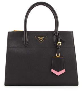 Prada Medium Saffiano Greca Paradigm Tote Bag