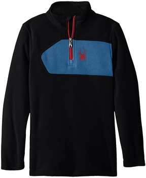Spyder Speed Fleece Top Boy's Long Sleeve Pullover