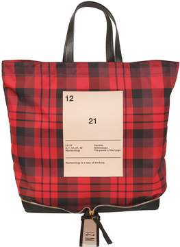 N°21 N.21 Checked Tote