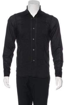Ann Demeulemeester Pleated Button-Up Shirt