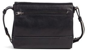 Bally Men's Tamrac Leather Messenger Bag - Black