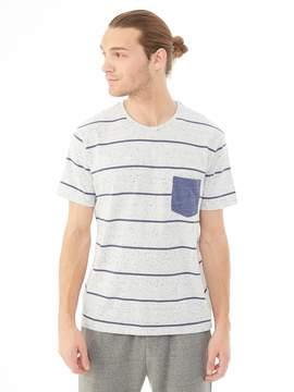 Alternative Apparel Nep Jersey Pocket Crew T-Shirt - 12527E8