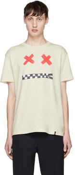 Marc Jacobs Off-White X-Face T-Shirt