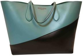 Rochas Black Leather Handbag