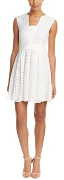 Adelyn Rae Eyelet A-line Dress.