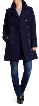 Fleurette Double Breasted Wool Coat
