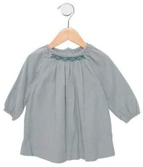 Jacadi Girls' Corduroy A-Line Dress
