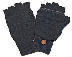 Muk Luks Fairisle Flip Gloves for Men