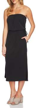 1 STATE 1.STATE Strapless Maxi Dress