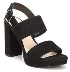 Fergie Fiana Suede Platform Sandals