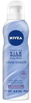 NIVEA Silk Mousse Body Wash Crème Smooth - 6.8oz