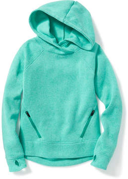 Old Navy Go-Warm Sweater-Knit Fleece Hoodie for Girls
